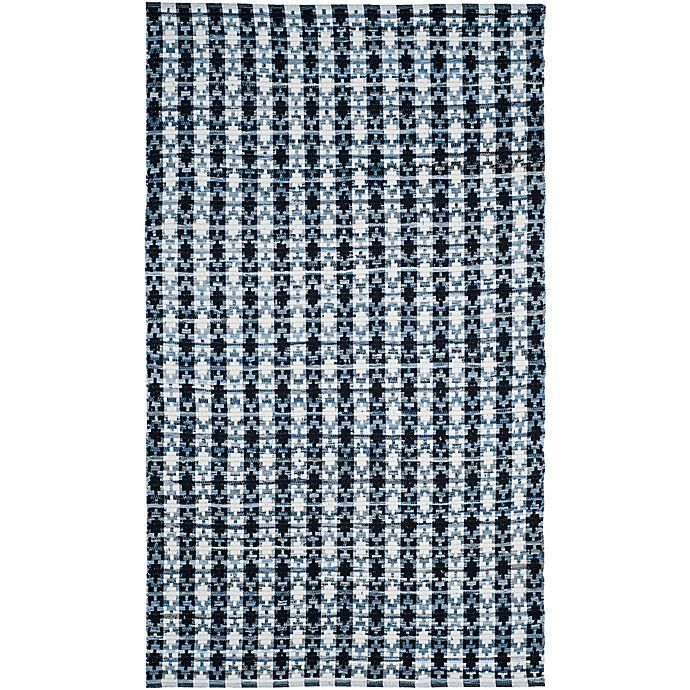 Alternate image 1 for Safavieh Montauk 6' x 9' Savoy Rug in Ivory Blue