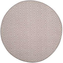 Safavieh Montauk 6' x 6' Griffith Rug in Grey