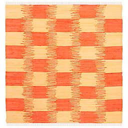 Safavieh Montauk 6' x 6' Barnet Rug in Terracotta