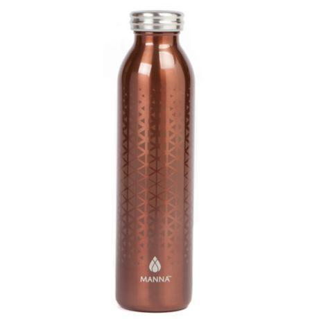 ace4b65cef Manna™ Retro® 20 oz. Metallic Water Bottle | Bed Bath & Beyond