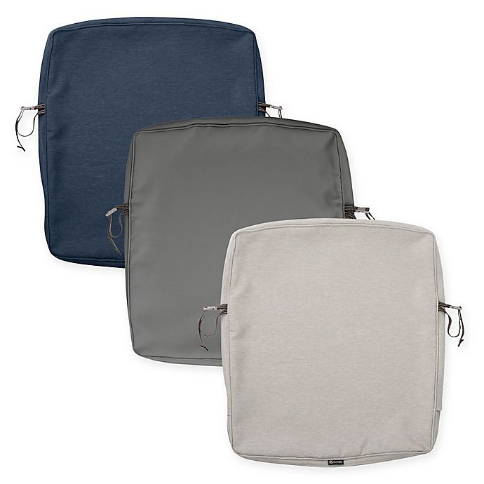 Alternate image 1 for Classic Accessories® Montlake™ 25-Inch Dining Back Cushion Slipcover
