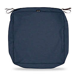 Classic Accessories® Montlake™ FadeSafe 23-Inch Lounge Seat Cushion Slip Cover in Blue