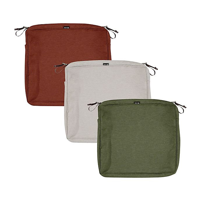 Alternate image 1 for Classic Accessories® Montlake™  21-Inch x 19-Inch Dining Seat Cushion Slip Cover