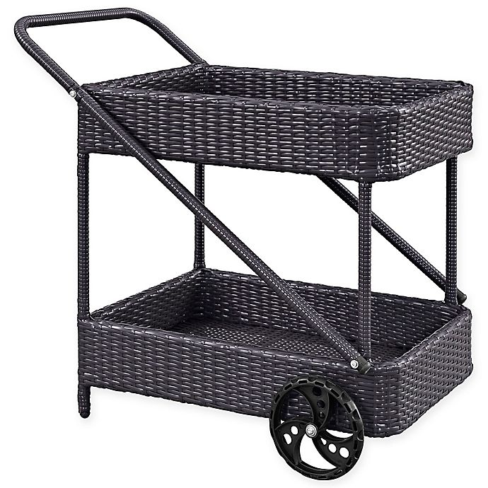 Alternate image 1 for Modway Replenish Outdoor Patio Beverage Cart