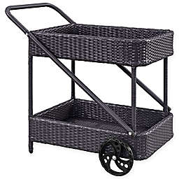 Modway Replenish Outdoor Patio Beverage Cart