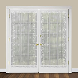 Heritage Lace® Sheer Divine Rod Pocket Door Panel