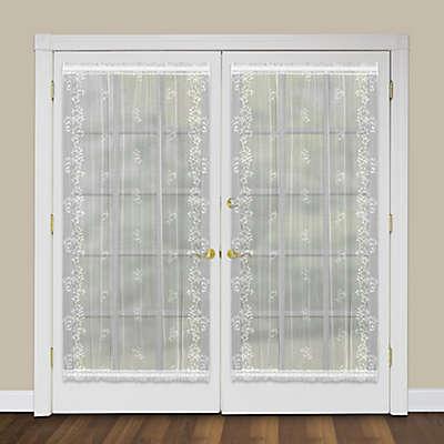 Heritage Lace® Sheer Divine Rod Pocket Window/Door Panels and Shade