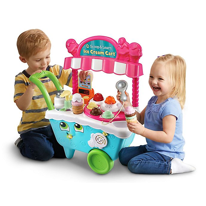 Alternate image 1 for LeapFrog® Scoop and Learn Ice Cream Cart in Blue