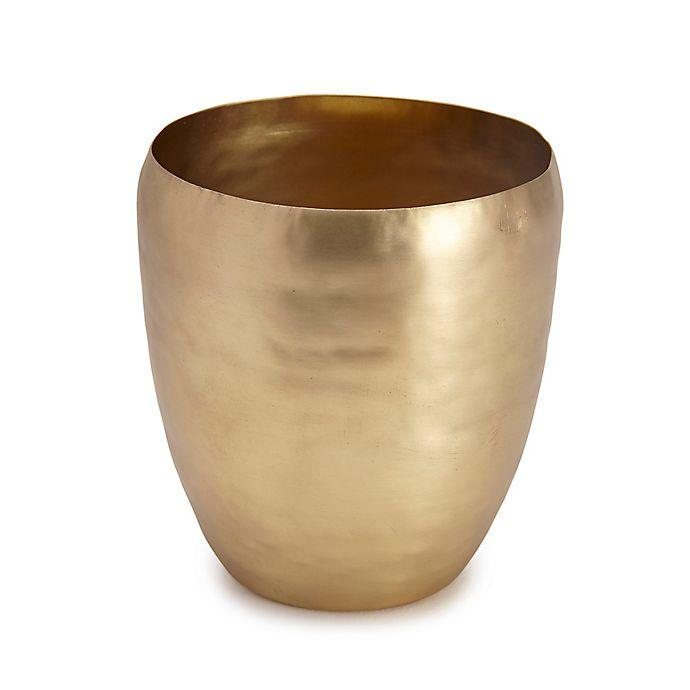 Kassatex Nile Tumbler In Satin Brass Bed Bath Beyond