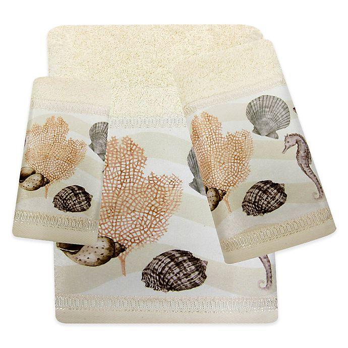 Croscill 174 Chapel Hill Seashore Bath Towel Bed Bath Amp Beyond