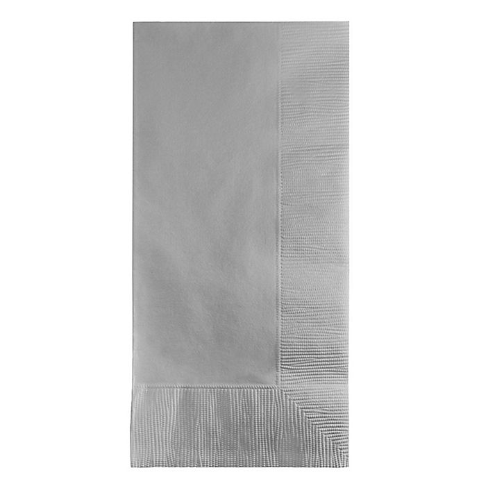 Paper Guest Towels Bathroom: Buy Touch Of Color 50-Count Paper Guest Towels In Silver