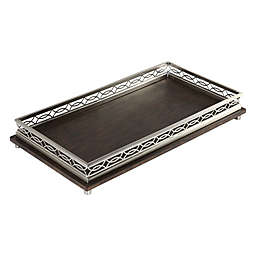 Uttermost Gualtiero Serving Tray in Chocolate Brown