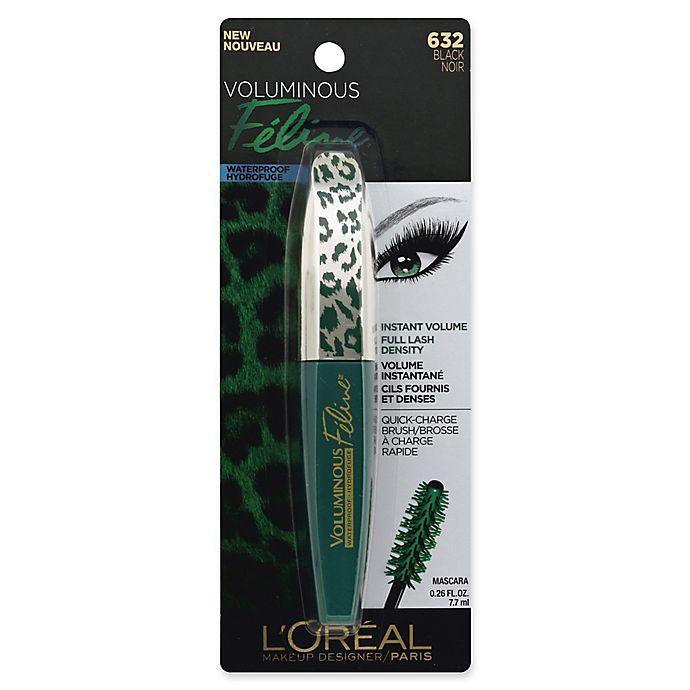 Alternate image 1 for L'Oréal® Voluminous Feline .27 fl. oz. Waterproof Mascara in Black