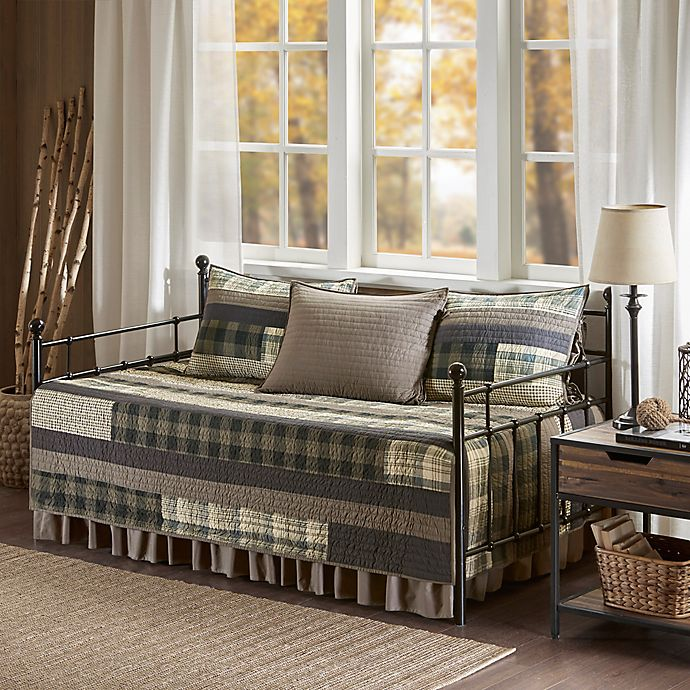 Alternate image 1 for Woolrich® Winter Plains Reversible Daybed Cover Set in Tan