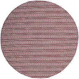 Safavieh Montauk 6' x 6' Sierra Rug in Red