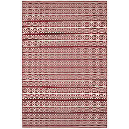 Safavieh Montauk 6' x 9' Sierra Rug in Red