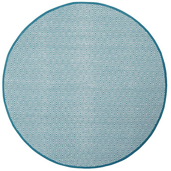 Alternate image 1 for Safavieh Montauk 4' x 4' Rowan Rug in Light Blue