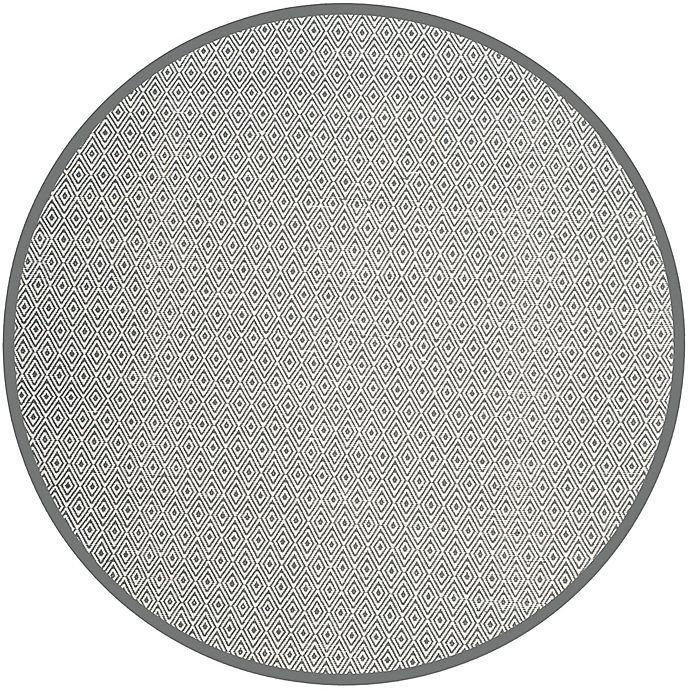 Alternate image 1 for Safavieh Montauk 6' x 6' Rowan Rug in Grey