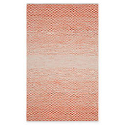 Safavieh Montauk 5' x 8' Phoenix Rug in Orange