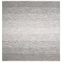 Safavieh Montauk 6' x 6' Phoenix Rug in Light Grey