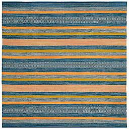 Safavieh Montauk 6' x 6' Madison Rug in Blue