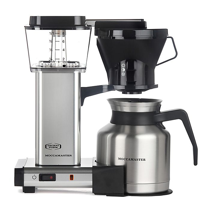 Alternate image 1 for Technivorm Moccamaster 8-Cup Thermal Carafe Coffee Brewer