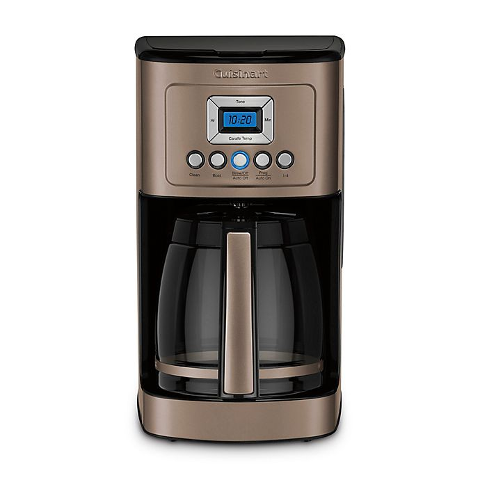 Alternate image 1 for Cuisinart® PerfecTemp® 14-Cup Programmable Coffee Maker in Umber