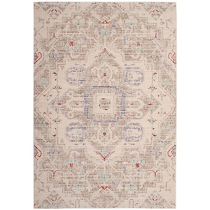 Alternate image 1 for Safavieh Windsor Harper Area Rug in Light Grey
