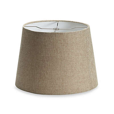 Mix & Match Medium 14-Inch Linen Drum Lamp Shade in Tan