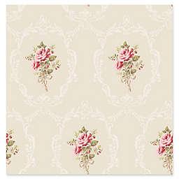 Fine Décor Camellia Floral Cameo Wallpaper