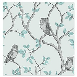 Fine Decor Linden Owl Wallpaper