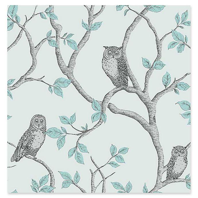 Fine Decor Linden Owl Wallpaper