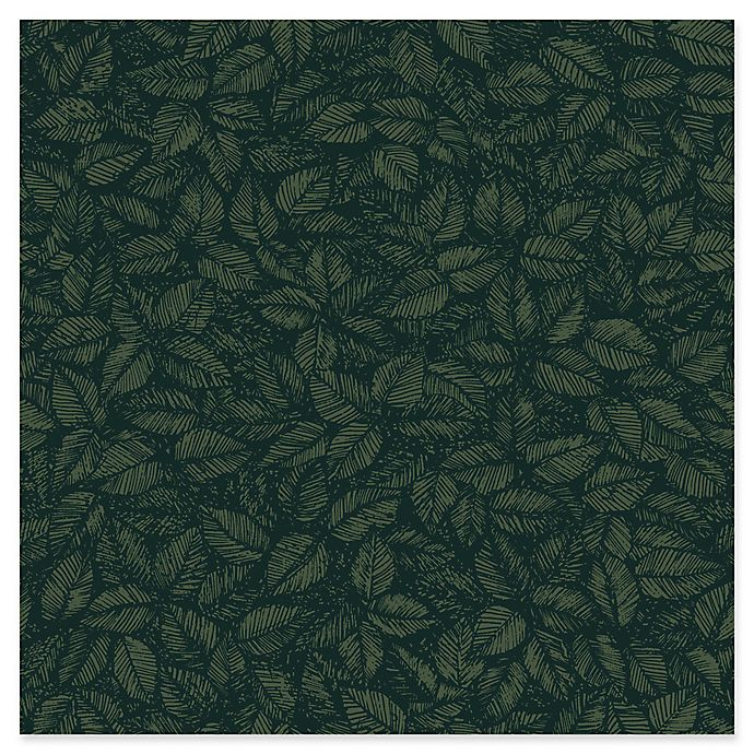Alternate image 1 for Wall Vision Amorina Leaf Wallpaper in Green