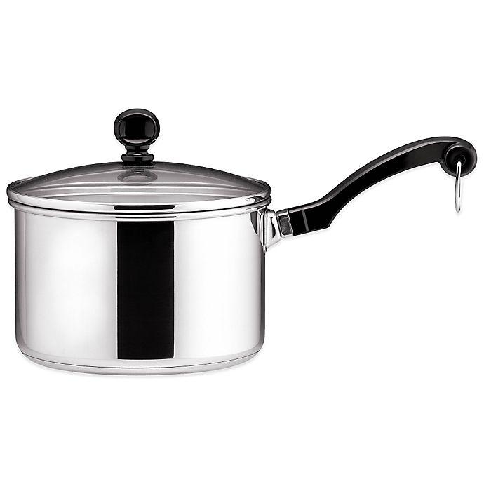 Alternate image 1 for Farberware® Classic Series™  II 2-Quart Stainless Steel Sauce Pan