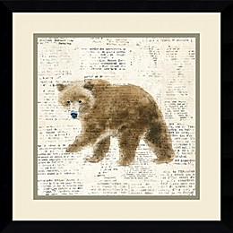 Amanti Into the Woods VI 17-Inch Square Framed Wall Art