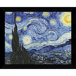 Amanti Art Starry Night 11-Inch x 9-Inch Framed Wall Art