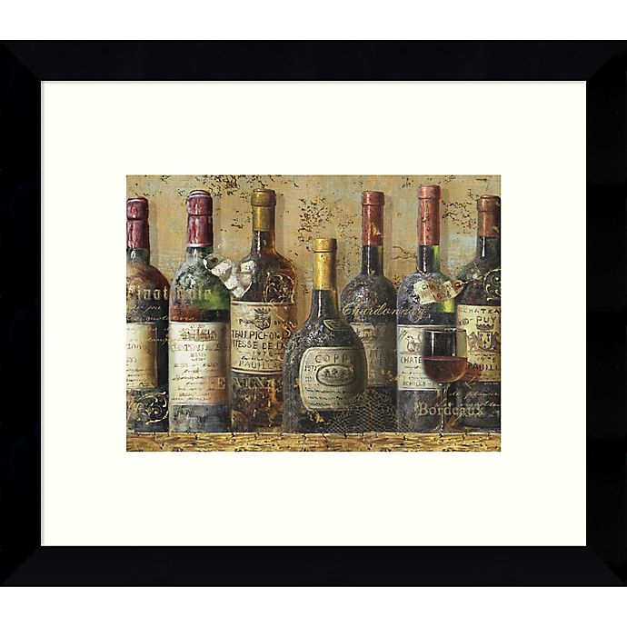Alternate image 1 for Amanti Art Wine Collection I 11-Inch x 9-Inch Framed Wall Art