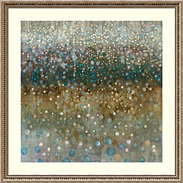 Amanti Art Abstract Rain 34.25-Inch Square Framed Wall Art