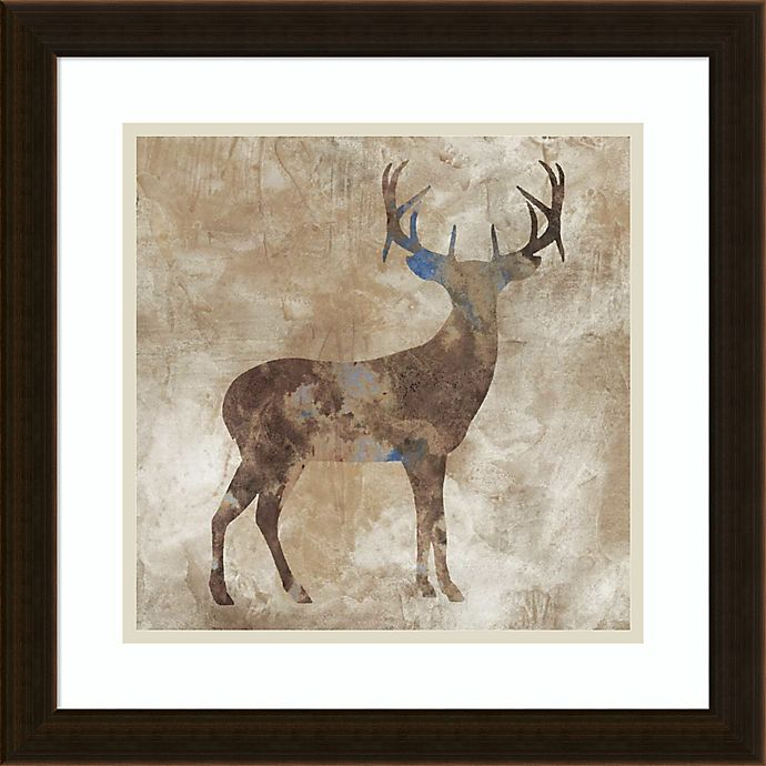 Alternate image 1 for Amanti Art Oh Dear 18-Inch Square Framed Wall Art