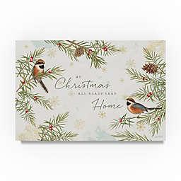 Trademark Fine Art Christmas Tradition I 12-Inch x 19-Inch Canvas Wall Art