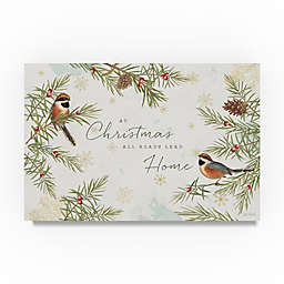 Trademark Fine Art Christmas Tradition I 30-Inch x 47-Inch Canvas Wall Art