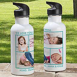 4-Photo 20 oz. Water Bottle