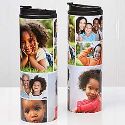 6-Photo Collage 16 oz. Travel Tumbler