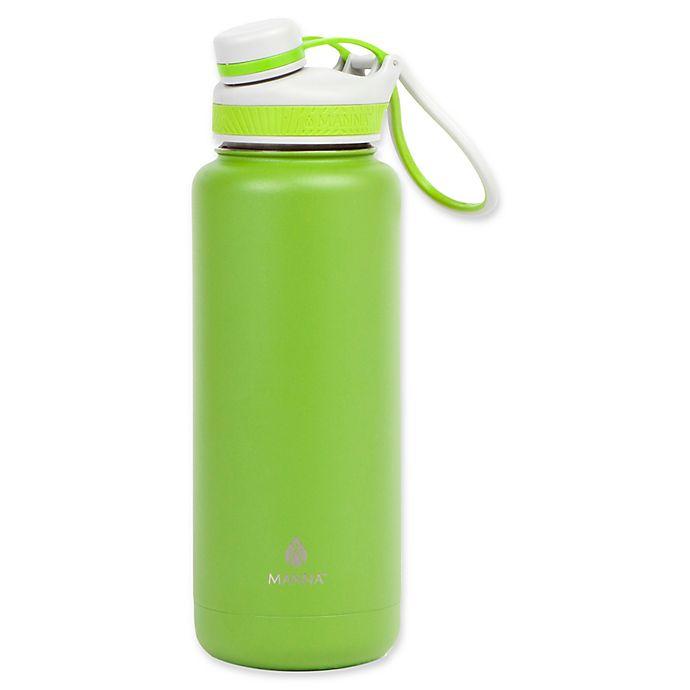 Alternate image 1 for Manna™ Ranger PRO 40 oz. Water Bottle in Kiwi
