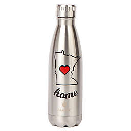 298ef26dfd Manna™ Vogue® Minnesota 17 oz. Double Wall Stainless Steel Water  Bottle in Stainless