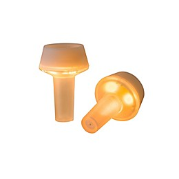 2-Piece Rabbit LED Bottle Stoppers Set