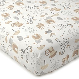Levtex Baby® Kenya Safari Print Fitted Crib Sheet