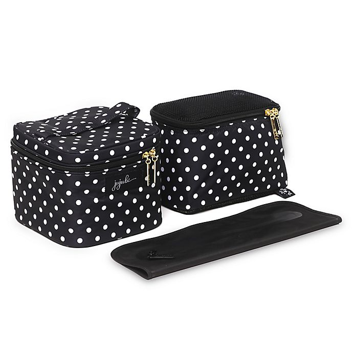 Alternate image 1 for Ju-Ju-Be® Be Equipped The Duchess Pump Bag in Black/White