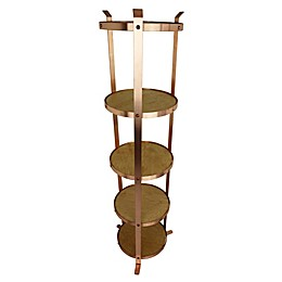 Enclume® 5-Tier Unassembled Round Stand in Brushed Copper