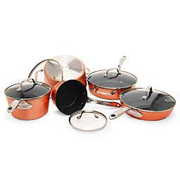 Starfrit the Rock™ Nonstick 10-Piece Cookware Set in Copper